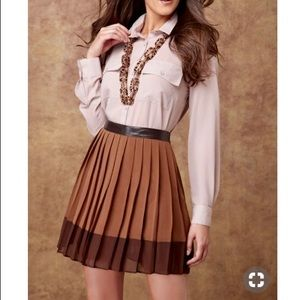 W118 by Walter Baker Brown Elina Skirt